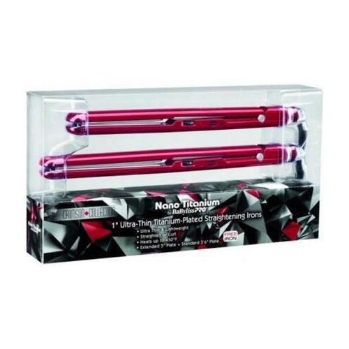 Conair Babyliss Striaghtner 2 Pack Ultra Smooth Titanium
