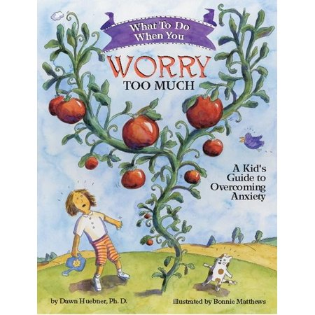 What to Do When You Worry Too Much: A Kid's Guide to Overcoming Anxiety (Paperback) A Gold NAPPA (National Parenting Publications Awards) winnerDid you know that worries are like tomatoes? No, you can't eat them, but you can make them grow, simply by paying attention to them. If your worries have grown so big that they bother you almost every day, this book is for you.What to Do When You Worry Too Much guides children and parents through the cognitive-behavioral techniques most often used in the treatment of anxiety. Lively metaphors and humorous illustrations make the concepts and strategies easy to understand, while clear how-to steps and prompts to draw and write help children to master new skills related to reducing anxiety. This interactive self-help book is the complete resource for educating, motivating, and empowering kids to overcoming their overgrown worries.Engaging, encouraging, and easy to follow, this book educates, motivates, and empowers children to work towards change. Includes a note to parents by psychologist and author Dawn Huebner, PhD. From the Note to Parents: If you are the parent or caregiver of an anxious child, you know what it feels like to be held hostage. So does your child. Children who worry too much are held captive by their fears. They go to great lengths to avoid frightening situations, and ask the same anxiety-based questions over and over again. Yet the answers give them virtually no relief. Parents and caregivers find themselves spending huge amounts of time reassuring, coaxing, accommodating, and doing whatever else they can think of to minimize their child's distress. But it doesn't work. The anxiety remains in control. As you have undoubtedly discovered, simply telling an anxious child to stop worrying doesn't help at all. Nor does applying adult logic, or allowing your child to avoid feared situations, or offering reassurance every time the fears are expressed. This book is part of the Magination Press What-to-Do Guides for 