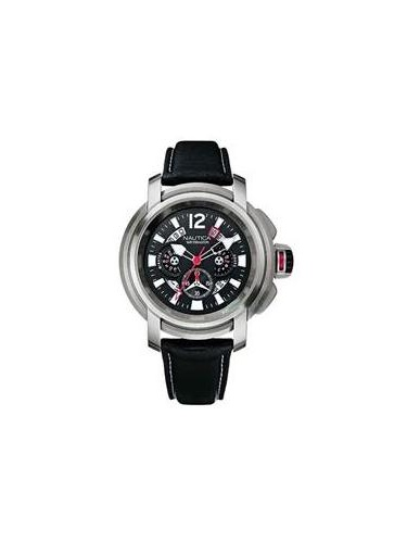 Nautica Leather Mens Watch A32513G by Nautica