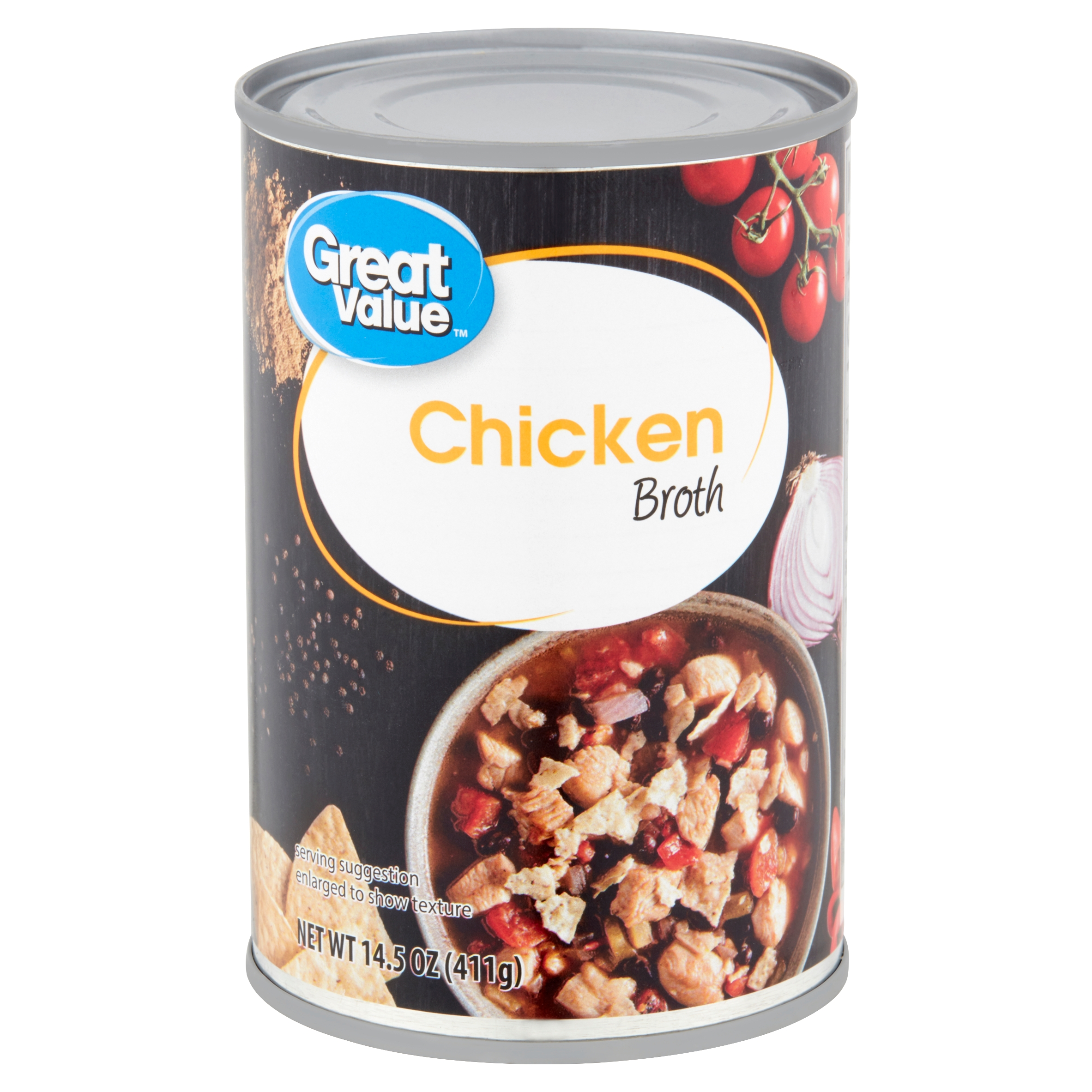 (3 Pack) Great Value Chicken Broth, 14.5 oz