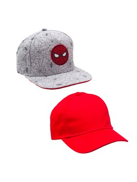Boy's Spiderman Baseball Cap 2-pack