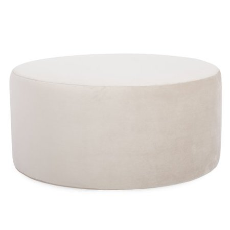 Howard Elliott C132-224 Replacement Cover for Universal Round Ottoman, 36-Inch, Bella Sand ()