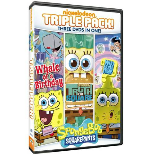 SpongeBob SquarePants: Truth Or Square / Who Bob What Pants / Whale Of A Birthday (Full Frame)