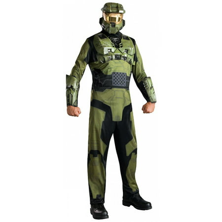 MASTER CHIEF HALO ADULT MENS COSTUME](Master Cheif Helmet)