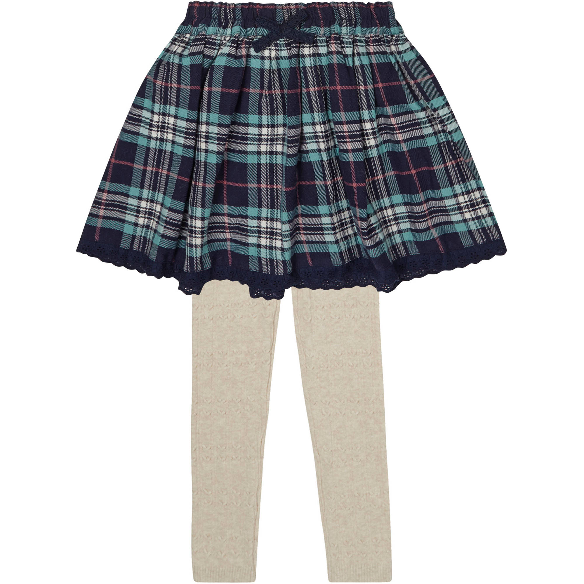 Baby Toddler Girl Skirt With Matching Tights