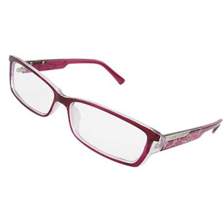 Sangria plastic full rim lady plain glasses spectacles - Plastic sangria glasses ...