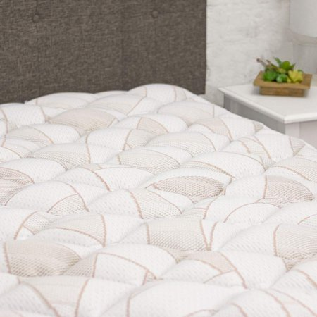 Copper Infused Mattress Pad - Extra Plush Pillow Top Mattress