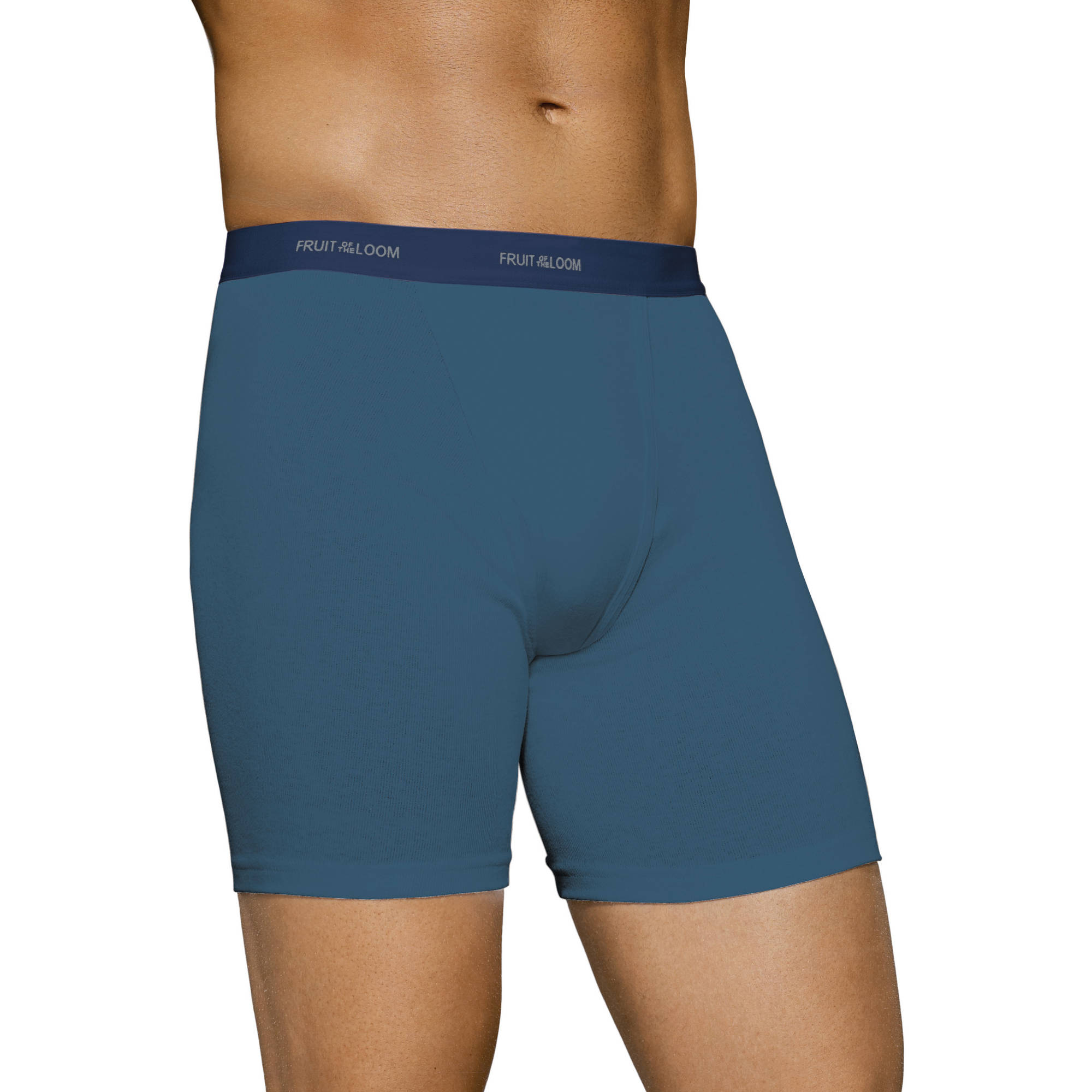 Fruit of the Loom Big Men's Assorted Color Boxer Briefs, 4-pack