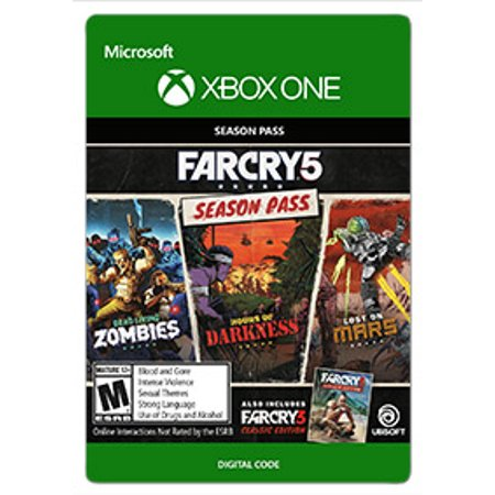 Far Cry 5 Season Pass, Ubisoft, Xbox One, [Digital Download]