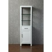 Stufurhome HD-218LC 20 in. Gracie Linen Cabinet
