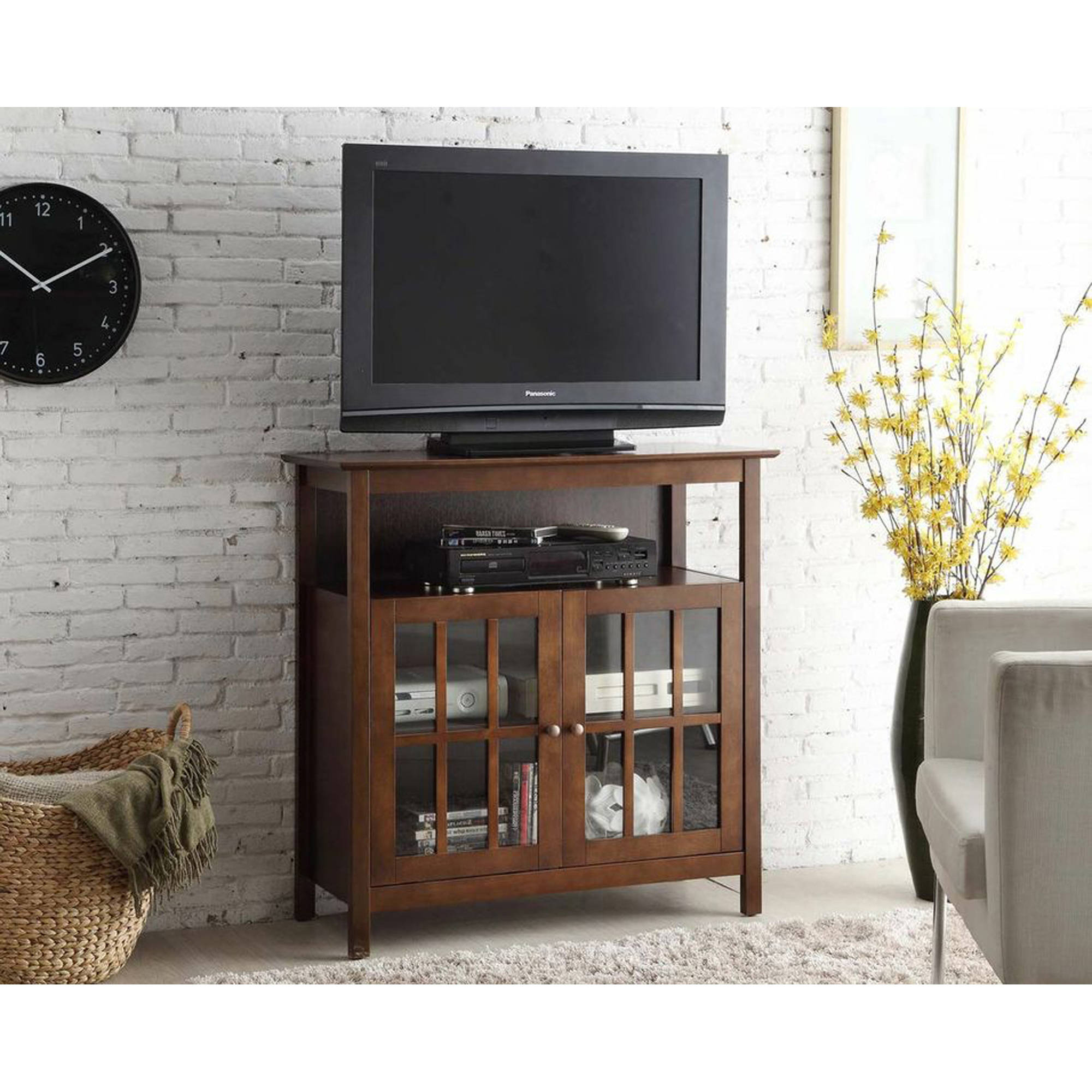 Convenience Concepts Big Sur Highboy TV Stand for TVs up to 42""