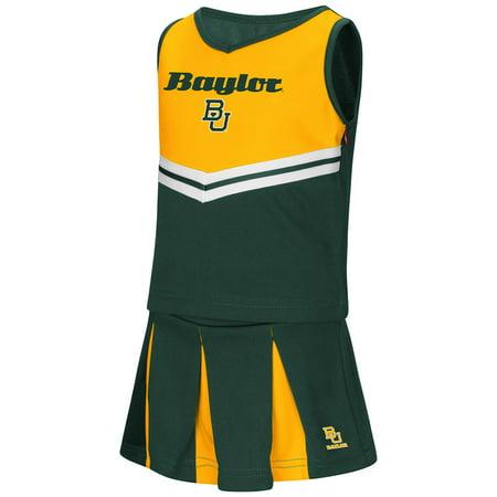 Cowboy Cheerleader Outfit (Baylor Bears NCAA Toddler