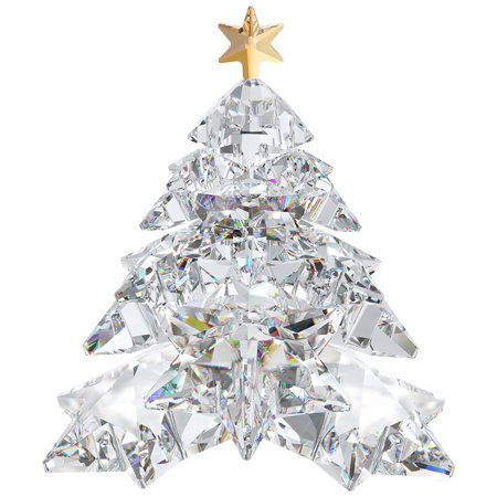 Swarovski Christmas Star - Swarovski Christmas Crystal Figurine CHRISTMAS TREE SHINING STAR #1139998