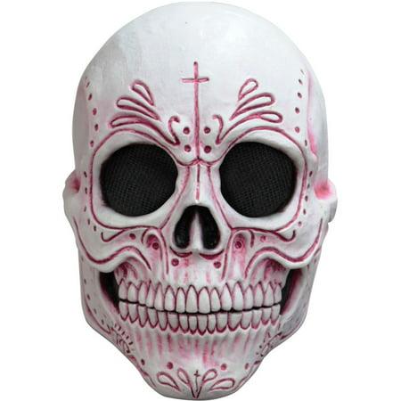 Womens Mexican Catrina Dia de los Muertos Mask