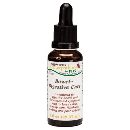 for Pets Bowel & Digestive Care, 1 fl. oz., Formulated for digestive health and for associated symptoms such as loose stools, constipation, flatulence, vomiting and.., By Newton