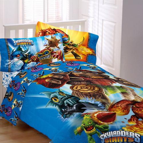 Skylanders Sky Friends Reversible Comforter