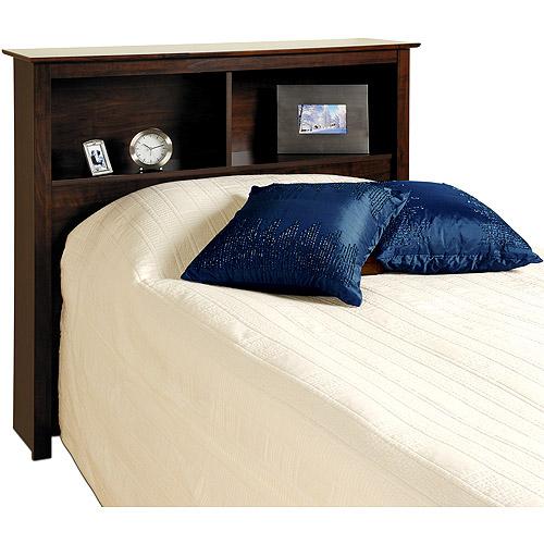 Edenvale Twin Storage Headboard, Espresso Prepac Furniture by Prepac