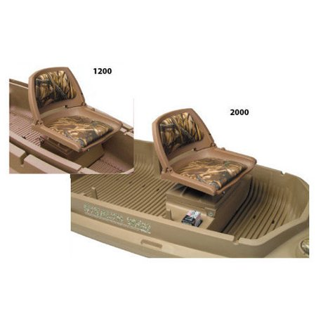1200 Stealth Beavertail 400256 Additional Seat for Bird / Duck Hunting Boat