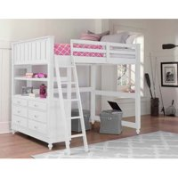Product Image Ne Kids Lake House Full Loft Bed