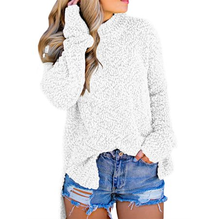 Autumn Winter Women Thick Warm Knitted Sweater Pullover ()
