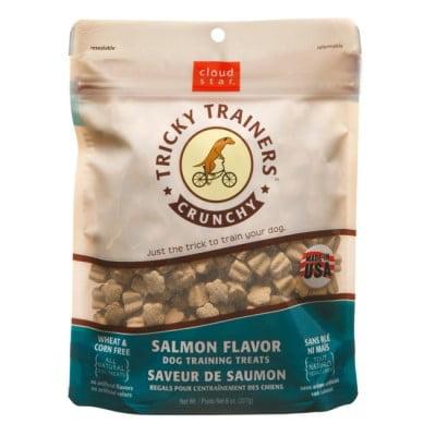 Cloud Star Chewy Tricky Trainers Salmon 8 oz Dog Treats