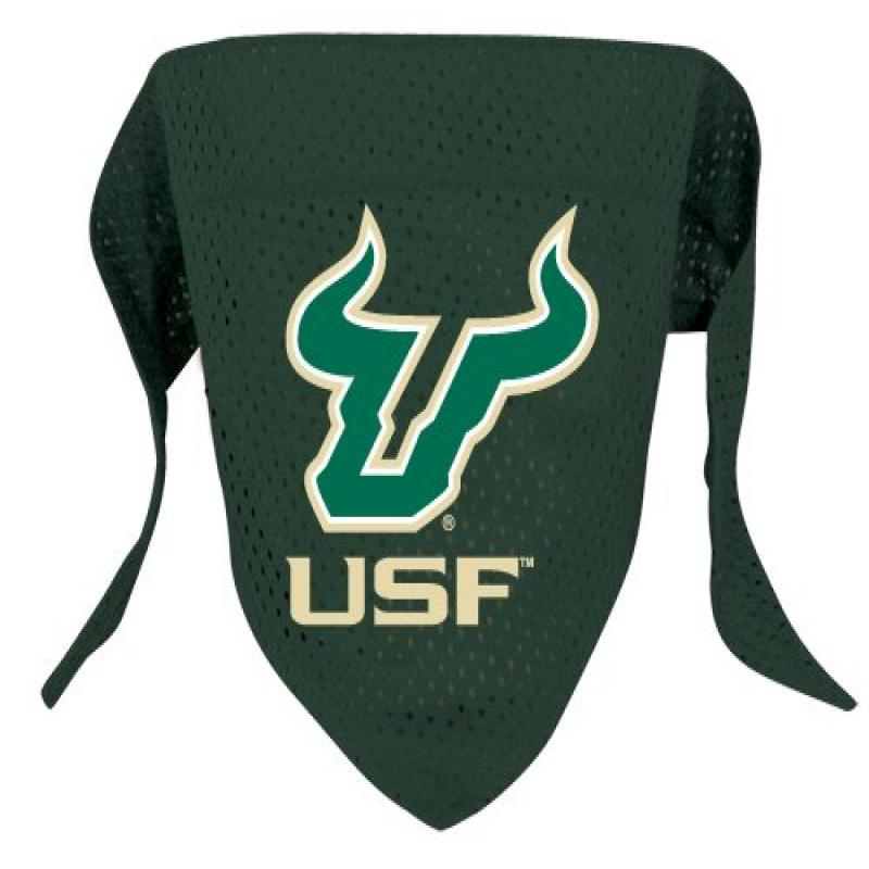 Hunter Sports Fan NCAA University of South Florida Dog Bandana-Mesh Large