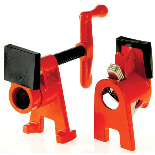 Bessey BPC-H12 1//2-Inch H Style Pipe Clamps Pack of 2