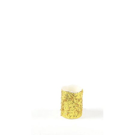 Gold Christmas Candle - 4