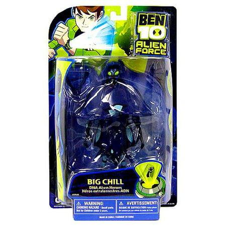 """Ben 10 Alien Force DNA Alien Heroes Big Chill 6"""" Action Figure"""