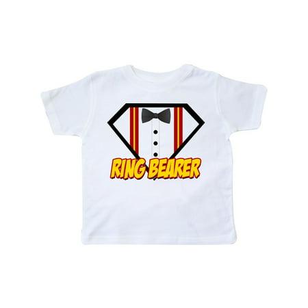 Ring Bearer Superhero Toddler T-Shirt - Ring Bearer T Shirt