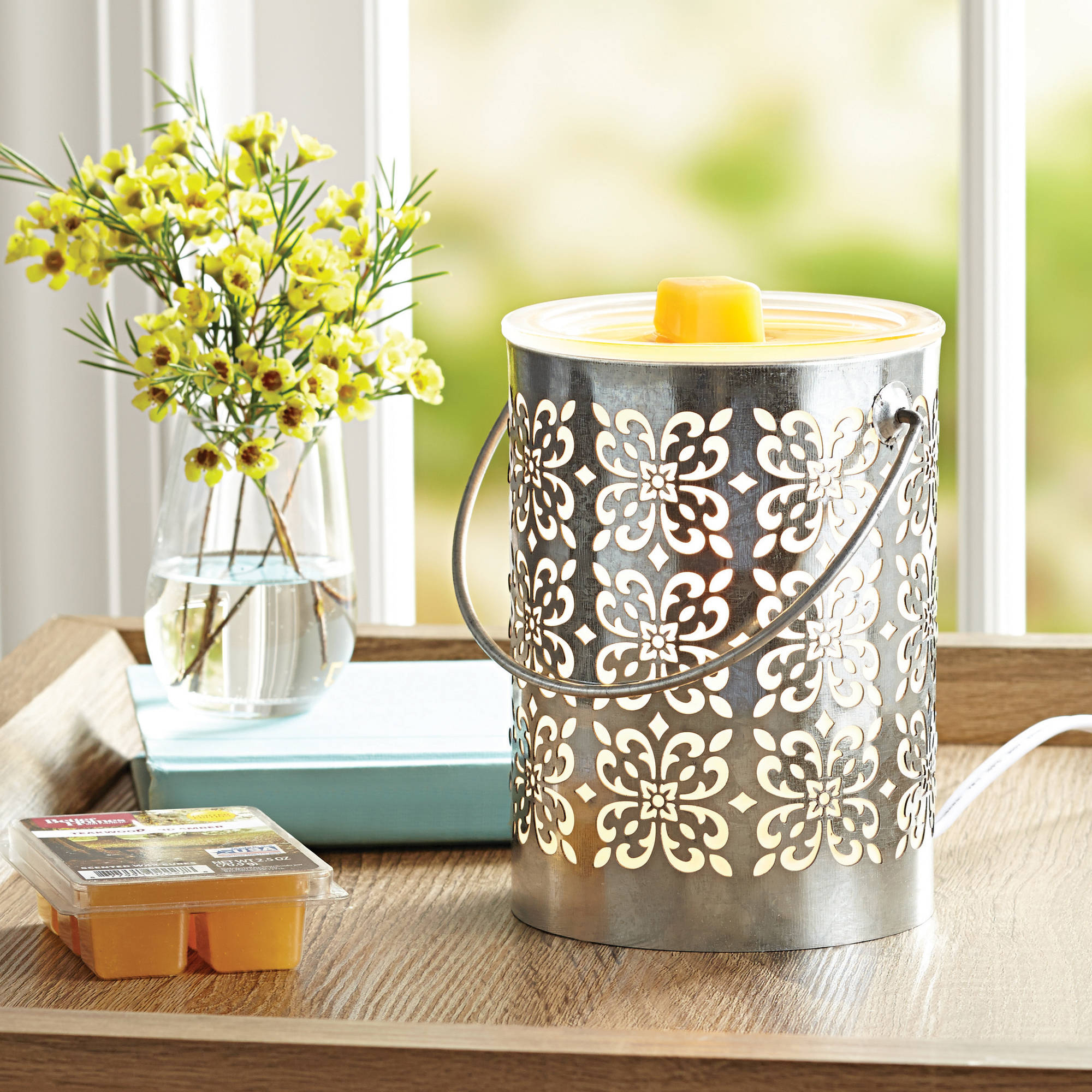 Better Homes and Gardens 4 Piece Wax Warmer Gift Set - Concord, $29 Value