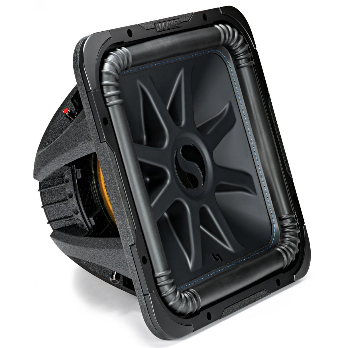 Dual Voice Coil 2-Ohm Kicker L715 Q-Class 15-Inch 38cm Square Subwoofer