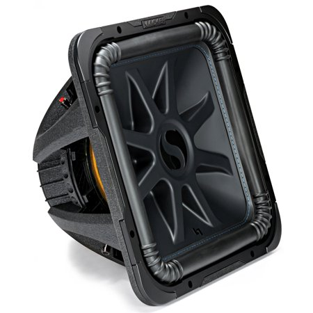Kicker L7S15 Car Audio Solo-Baric 15 Subwoofer Square L7 Dual 2 Ohm Sub 44L7S152 ()