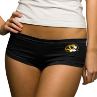 Missouri Tigers Women's Black College Hot Shorts - XS