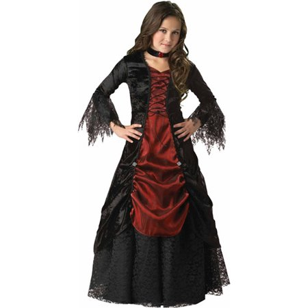 Gothic Vampira Child Halloween Costume - Trajes De Halloween Vampira