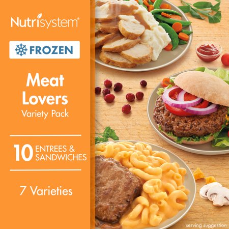 Nutrisystem Frozen Meat Lovers Variety Pack, 10CT