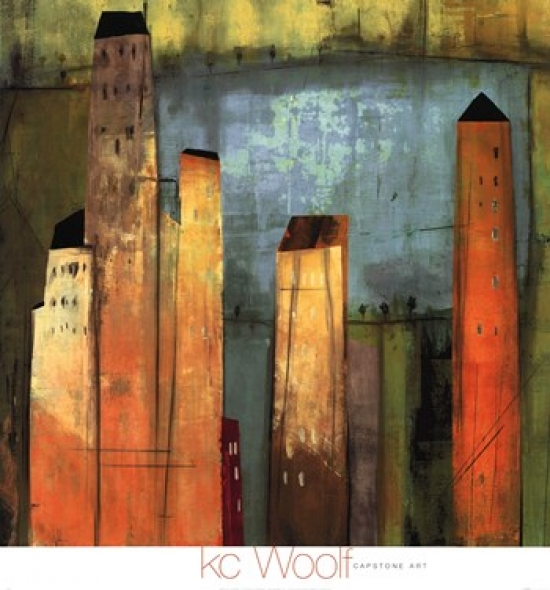 Project 6, #1 Poster Print by KC Woolf (24 x 26)