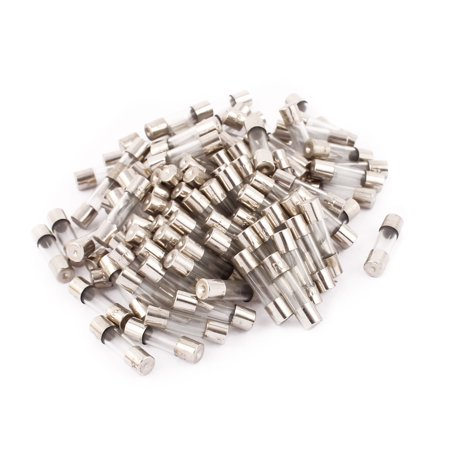 250v 5x20mm Fast Acting Glass (250V 3A 5 x 20mm Transparent Quick Acting Fast Blow Type Glass Tube Fuse 100pcs )