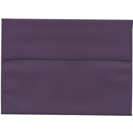 a7 5 1 4 x 7 1 4 paper invitation envelope dark