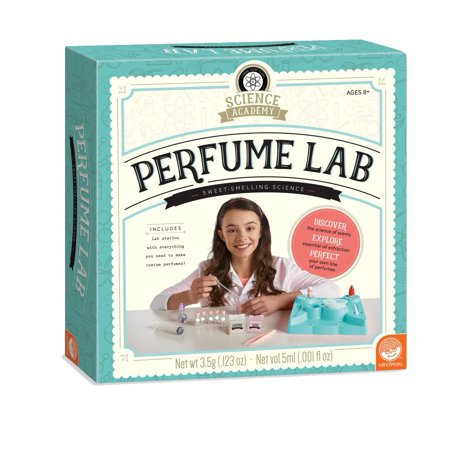 Science Academy: Perfume Lab, TOYS THAT TEACH: This kit from MindWare makes it easy and safe to learn how to create your own perfume formulas using.., By MindWare (Mindware Toys)