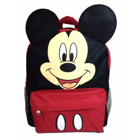 Bags For Kids (Mickey Mouse 3D Ears 12 Backpack for Kids Back to School)