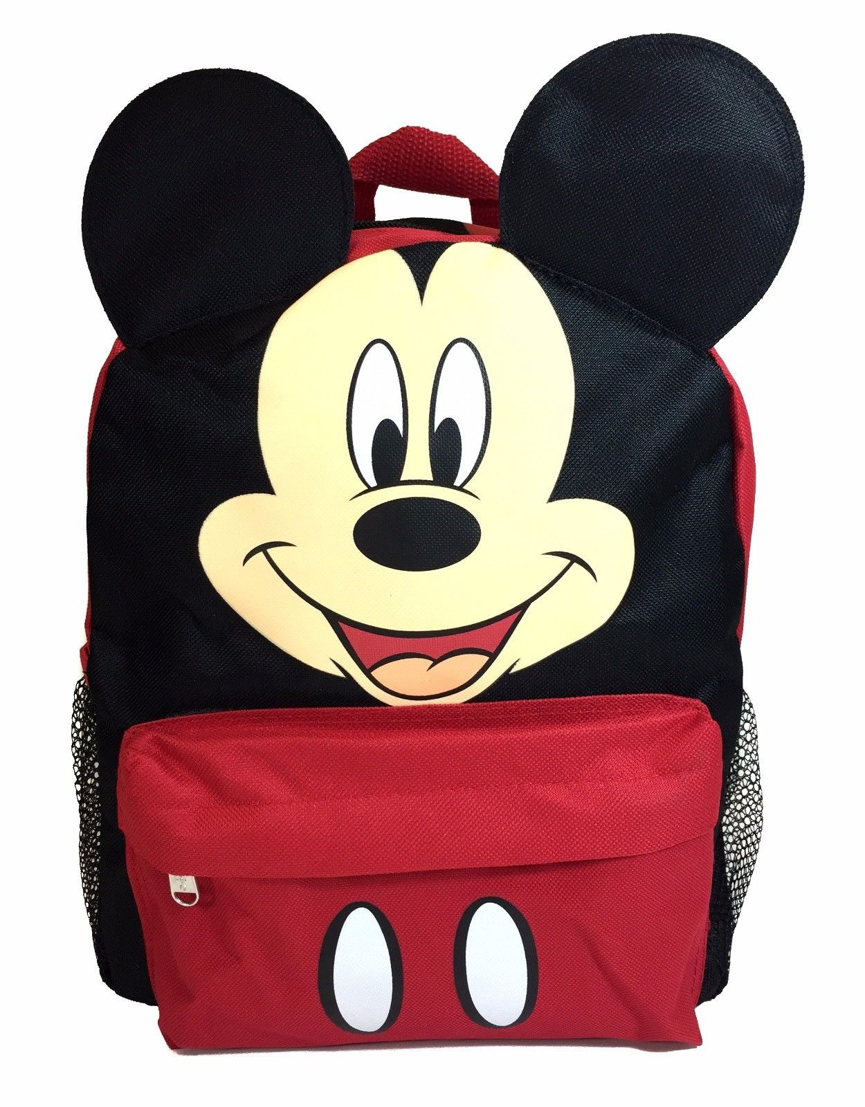Mickey Mouse 3D Ears 12 Backpack for Kids Back to School Bag