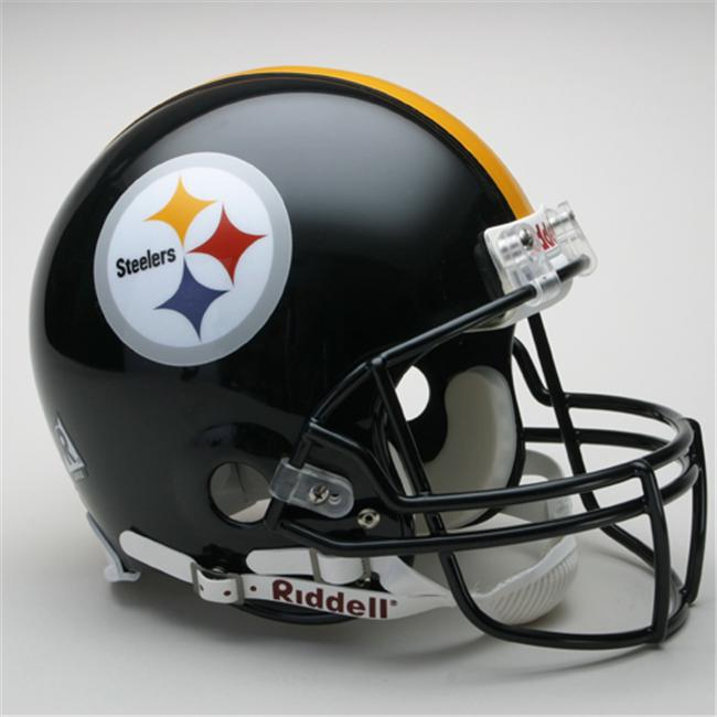Creative Sports RD-STEELERS-A Pittsburgh Steelers Riddell Full Size Authentic Proline Football Helmet