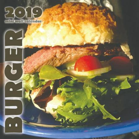 Burger 2019 Mini Wall Calendar (Paperback)