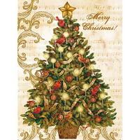 Lang Christmas Tree Boxed Christmas Cards