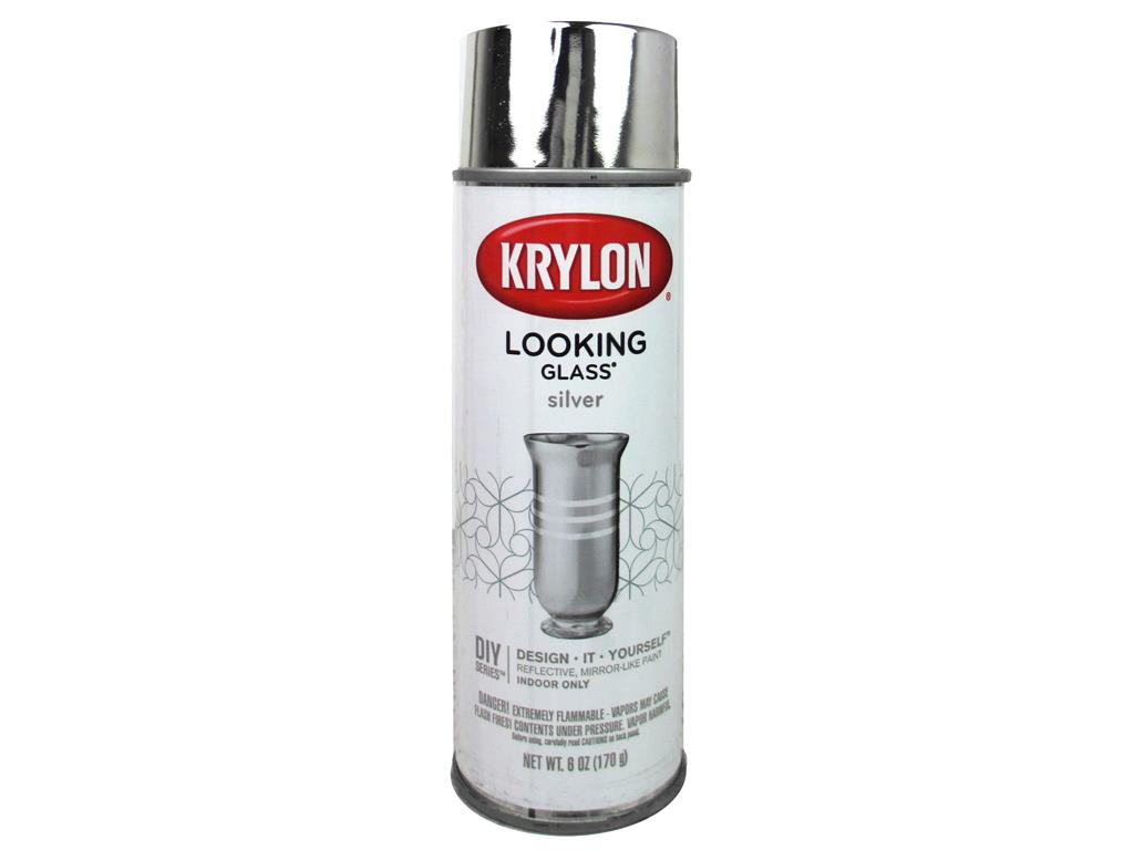 Krylon Looking Glass Mirror Paint 6oz Walmartcom