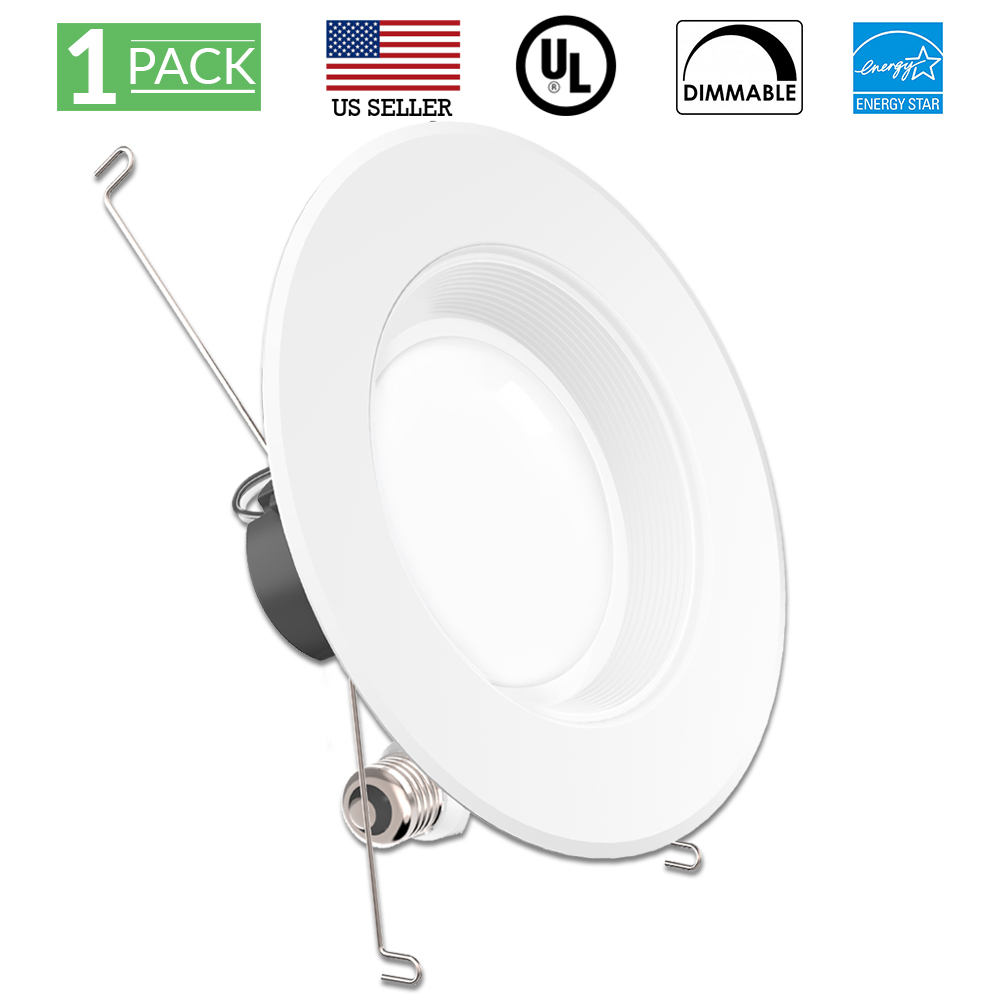 13watt 5 6 Inch Energy Star Ul Listed Dimmable Baffle Led Recessed