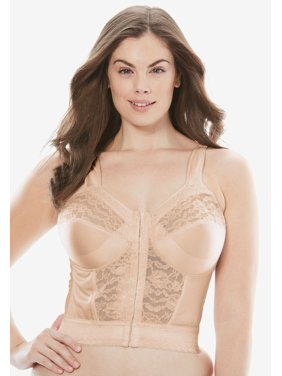 318c14f6160 Product Image Plus Size Easy Enhancer Longline Posture Bra By Comfort Choice
