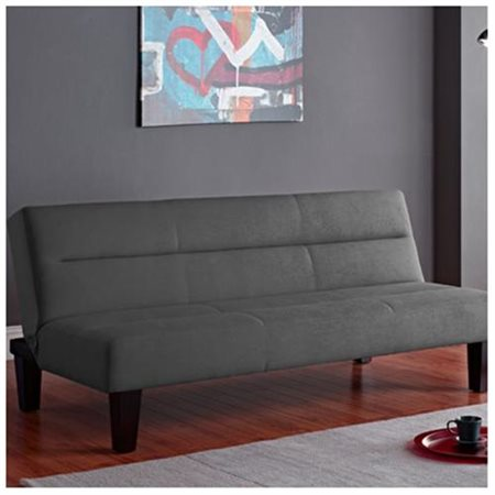 Kebo Futon Sofa Bed Charcoal Walmart Com