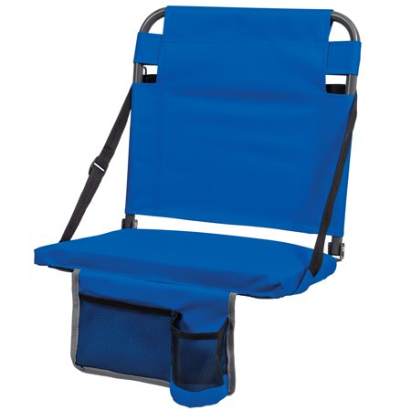EastPoint Sports Portable Bleacher Back Stadium Seat, Blue